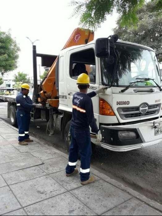 Alquiler Camiones Grua Y Canasta