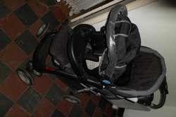 cochecito con huevito infanti usado