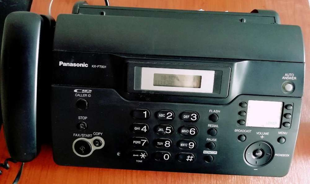 Fax Panasonic Kx Ft931