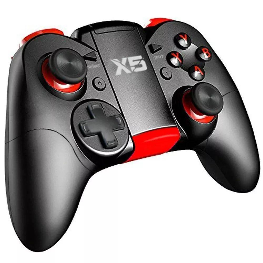 Control X5 Juegos Game Pad Pc Celulares Ps3  Soporte Joysti