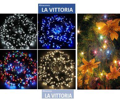 Luces de Navidad Multicolor Ideal para Decoraciones