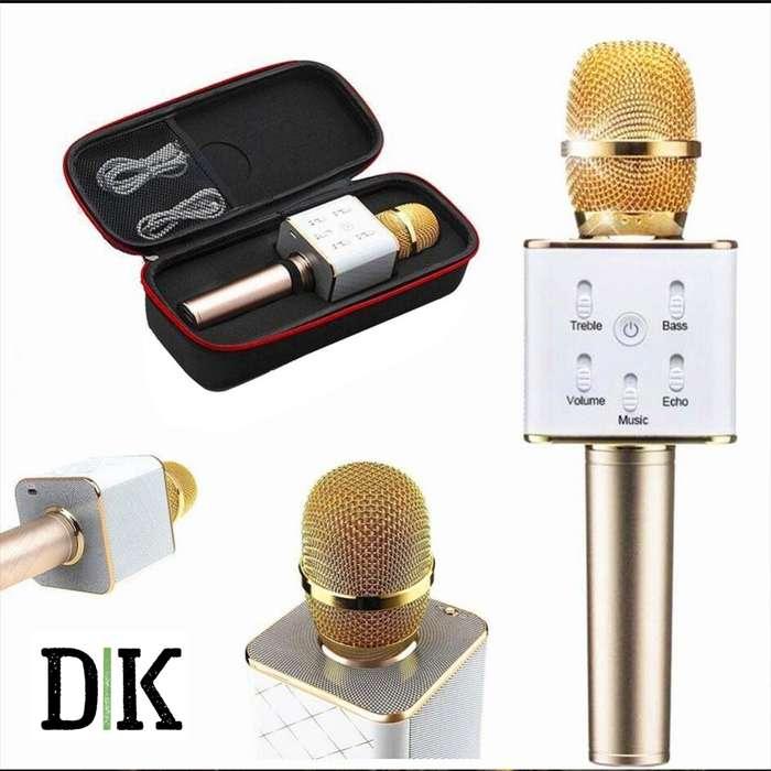Microfono Parlante bluetooth para <strong>karaoke</strong>s portatil y recargable