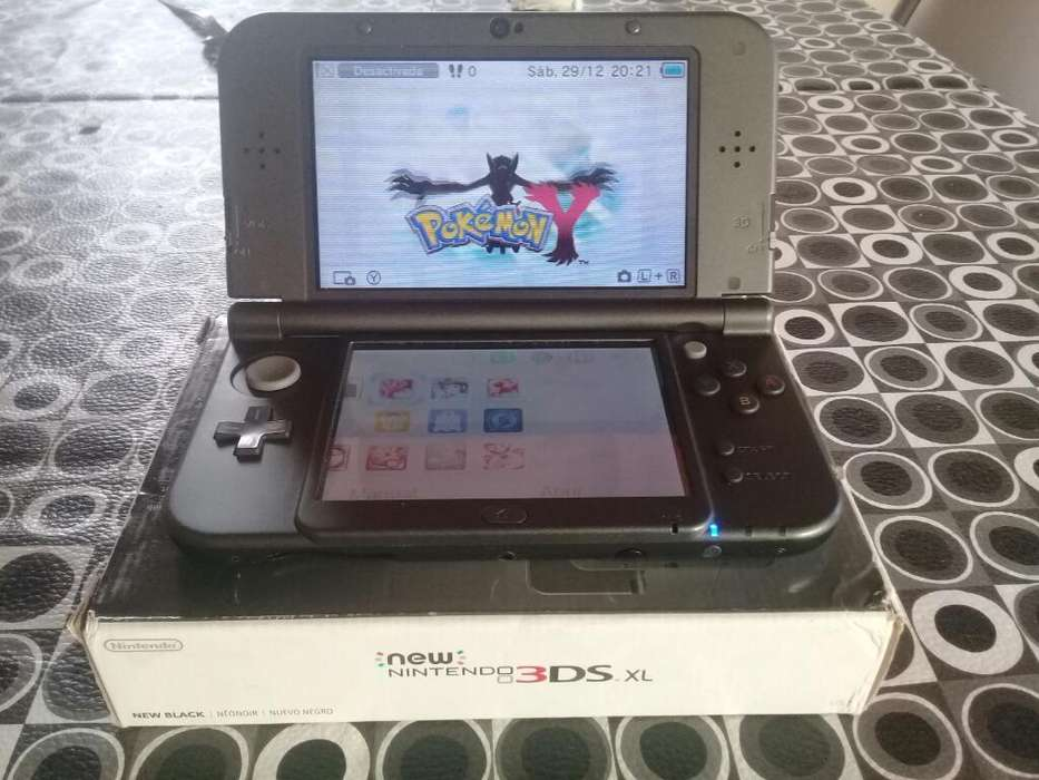 Nintendo New 3ds Xl Nueva