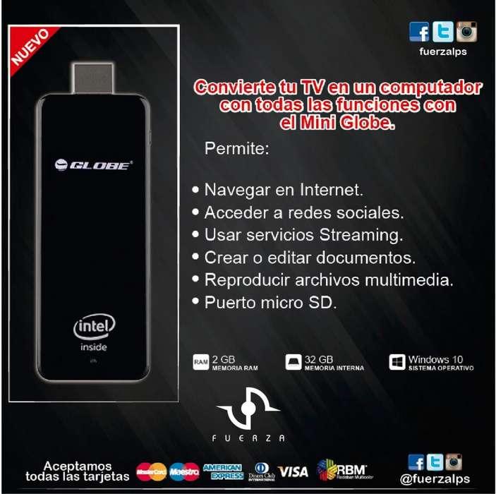 Alquiler de Mini PC Stick Intel 32GB GLBMPC1010 Globe