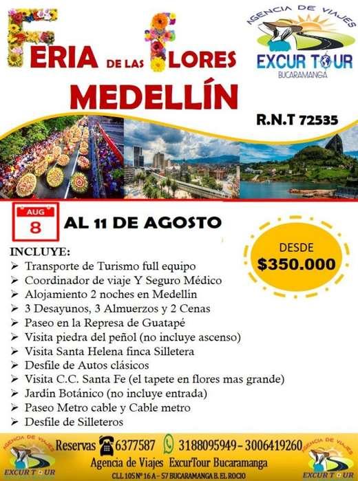 Tour Feria de Las Flores Medellín