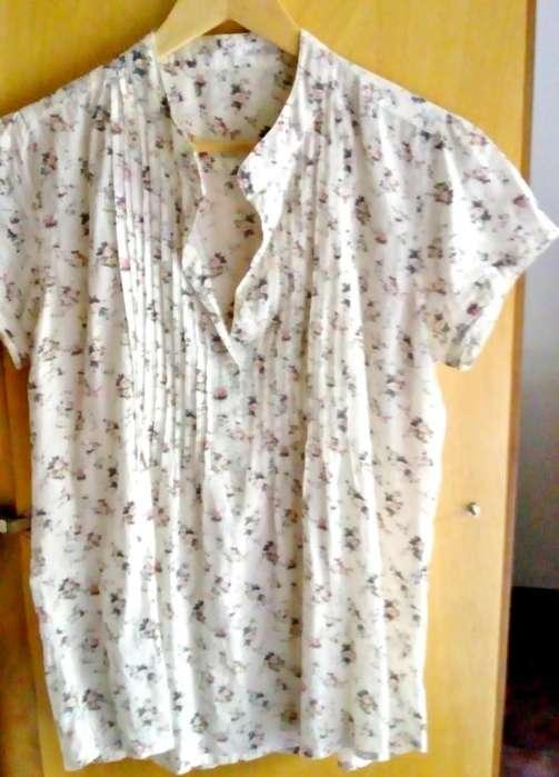 blusa estampada L
