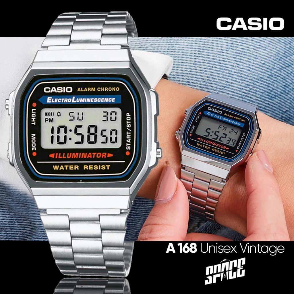 b2b5d8ed30df Reloj Casio Vintage A-168 RETRO - Lima