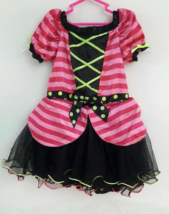 Disfraz de Brujita Talla 3 a 5 Años