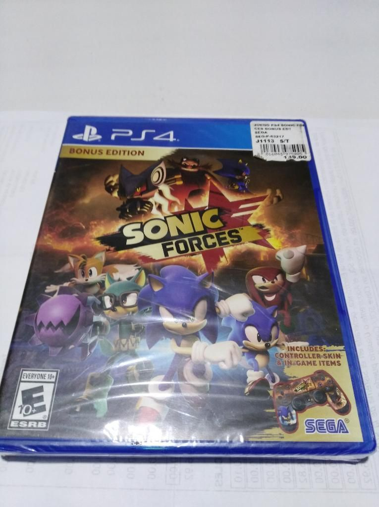 Sonic Forces Ps4 Nuevo Delivery Gratis