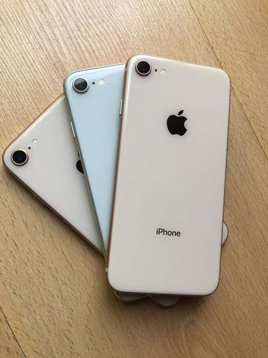 iPhone 8 de 64Gb Silver Y Oro Rosa