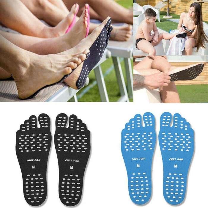 Plantillas Nake Feet, ideales para no quemarte en la playa o para estar descalzo