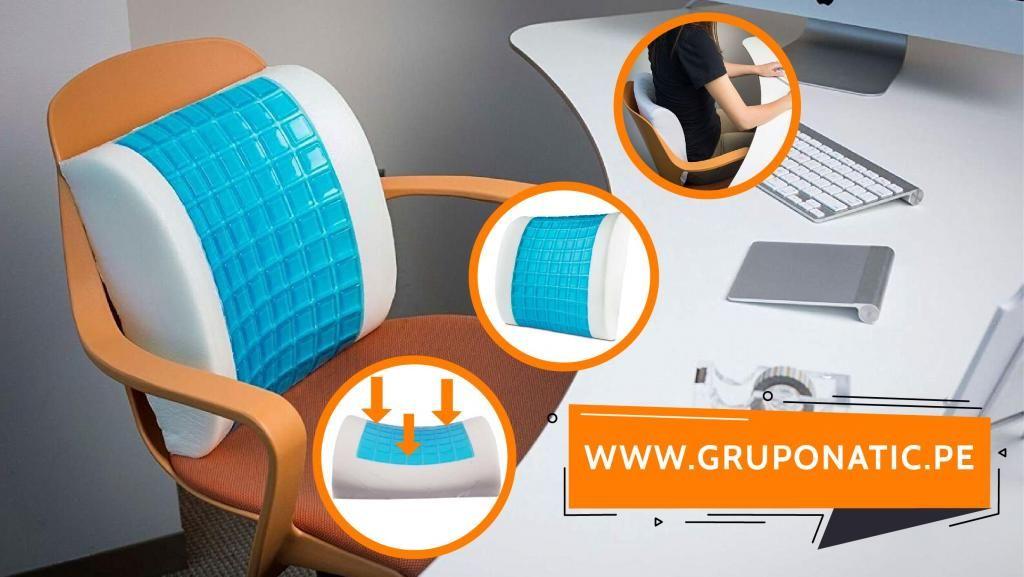 Cojin Lumbar Gel Para Auto Silla De Oficina Gruponatic San Miguel Surquillo Independencia La Molina Whatsapp 941439370