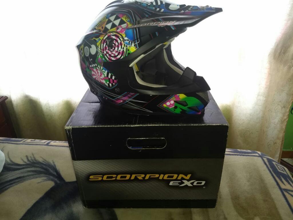 Casco Scorpion Exo Nuevo Mx Atv Motocros