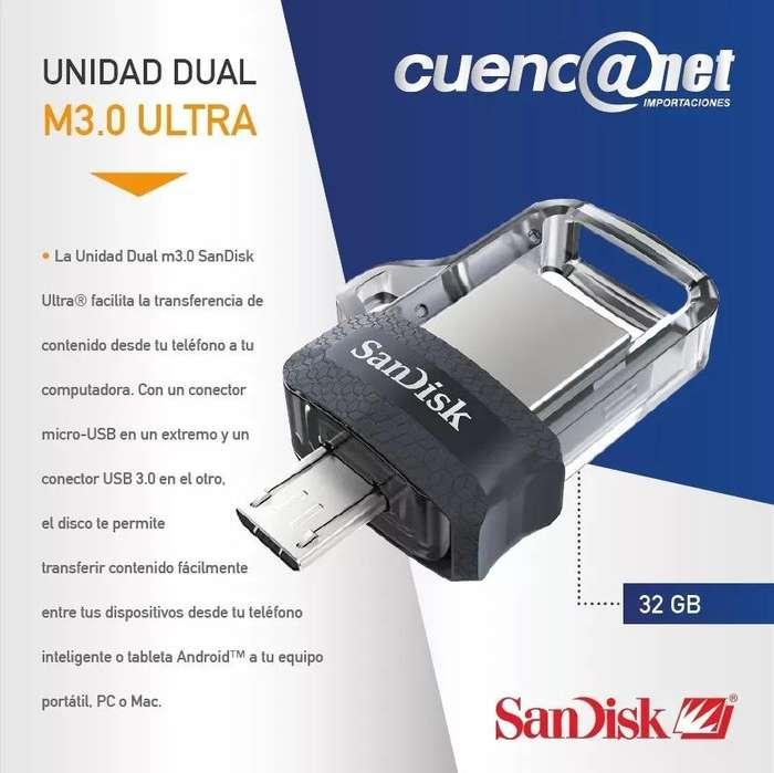 Ultra Dual Drive Usb M3.0 32gb Sandisk