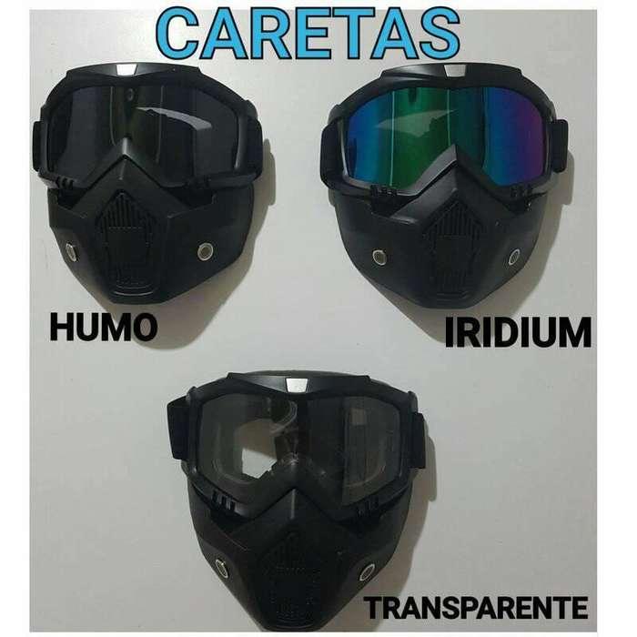 CARETAS PARA CASCO