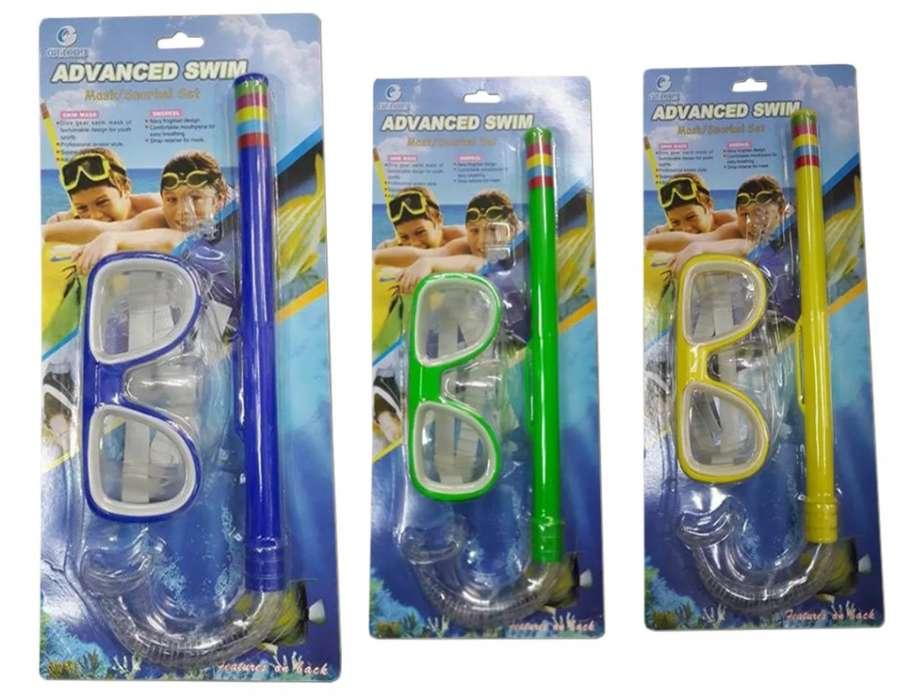 Careta Snorkel Buceo para niños Mascara Acuatica