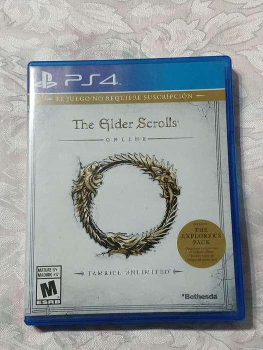 Juego PlayStation 4 The Elder Scrolls