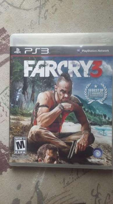 Juego disco de Ps3 play station 3 Farcry 3.