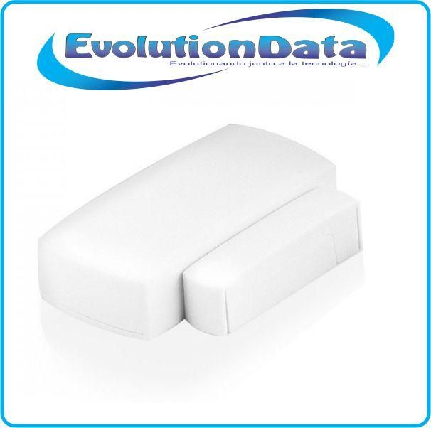 Sensor Magnetico Puertas Ventanas Inalambrico Sistema Alarma GSM PSTN Wifi 433Mhz