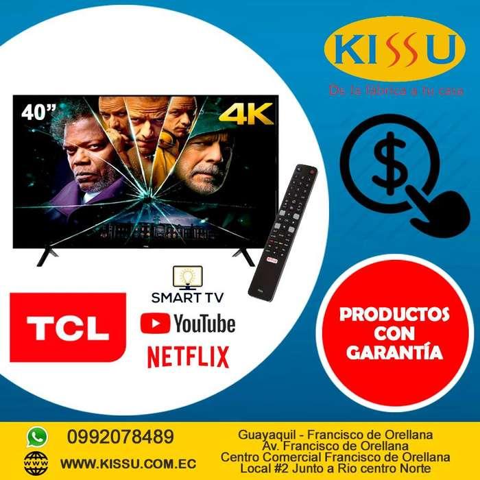 TV TCL 40 L40P62US SMART 4K UHD ULTRADELGADA TCAST