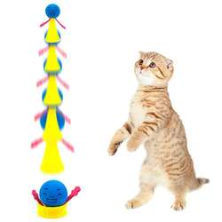 Juguete Saltarin Para Gatos X2