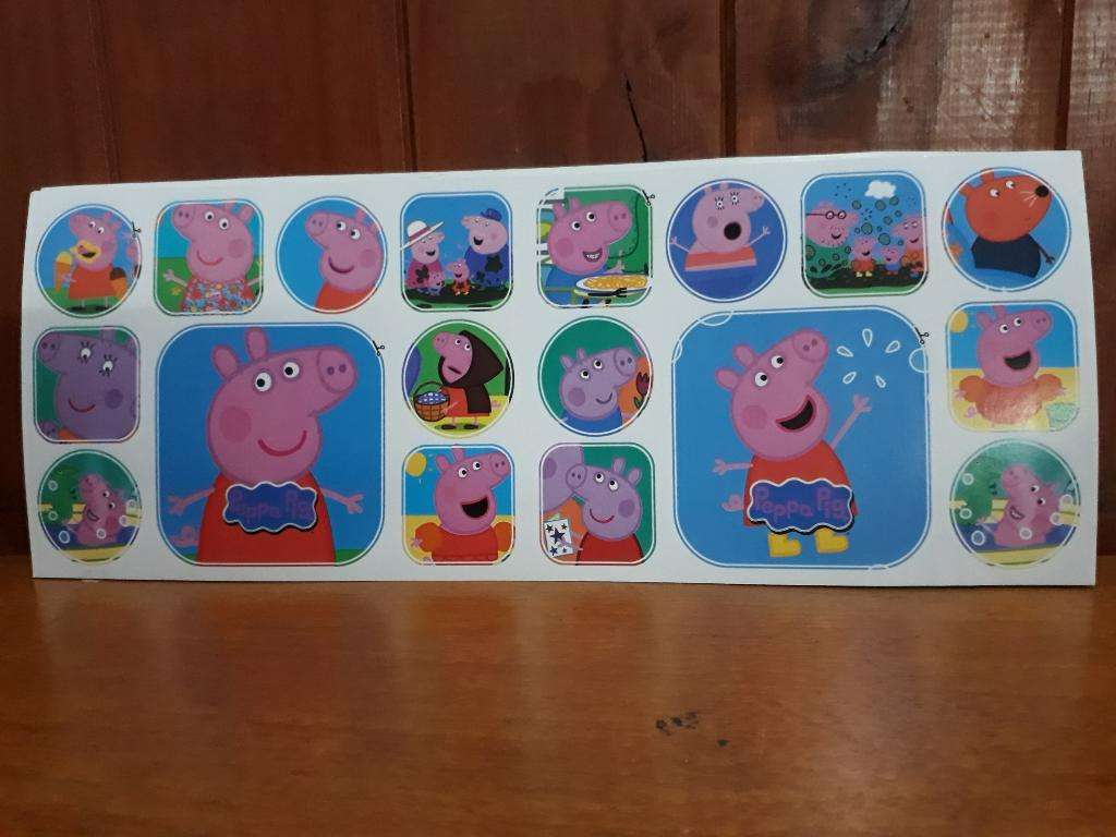 Stickers de Peppa Pig X 10