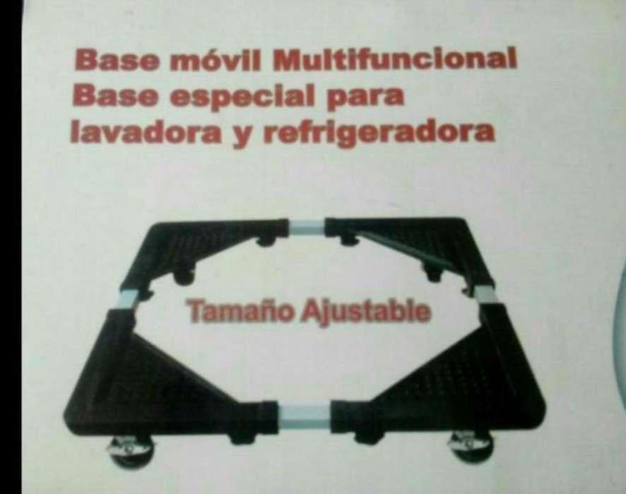 Base Especial para Lavadora <strong>refrigerador</strong>