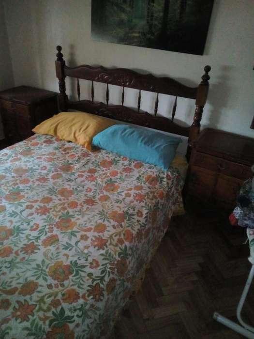 Juego <strong>dormitorio</strong> madera estilo Provenzal