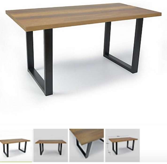 Mesa Comedor 6 Puestos Moderna Nueva
