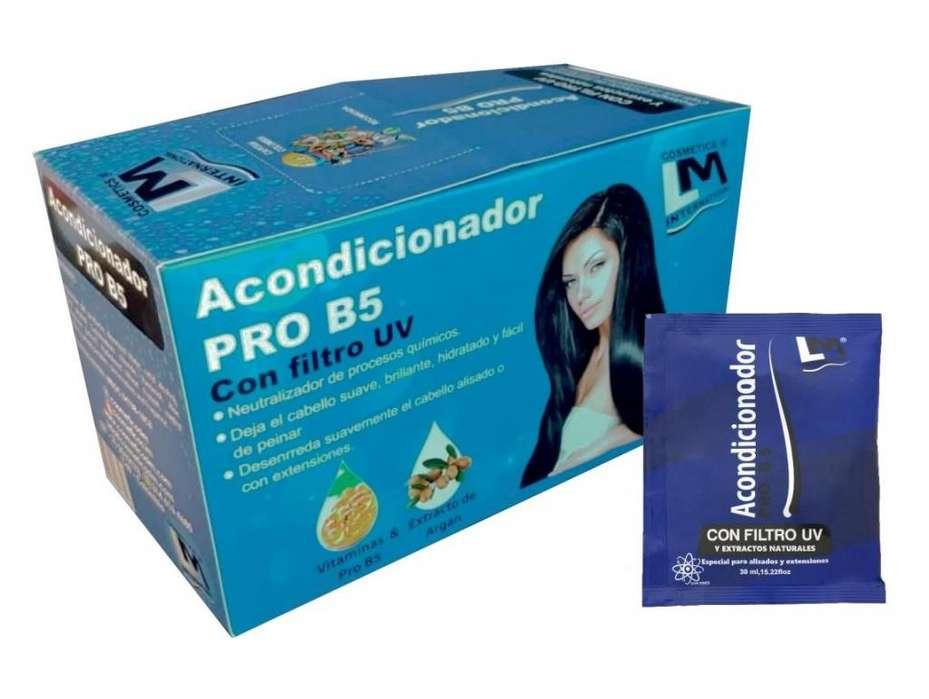 Acondicionador Pro B5 con Iones Negativos LM. Caja Display X 24 Sachets.