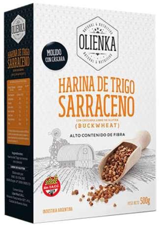HARINA INTEGRAL DE TRIGO SARRACENO SIN TACC BULTO DE 7 UNIDADES.