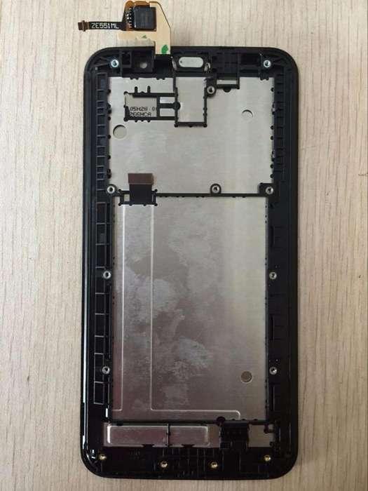 Asus ZenFone 2 ZE551ML 5.5 DISPLAY LCD DIGITALIZADOR Y FRAME O CUERPO COMPLETO!