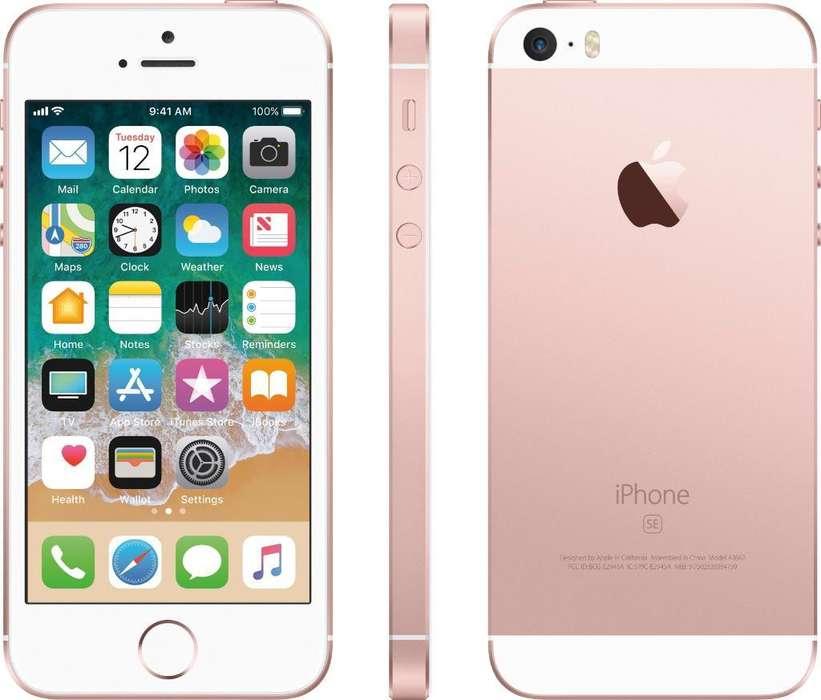 iPhone Se 16gb Rose Gold Usado Factura