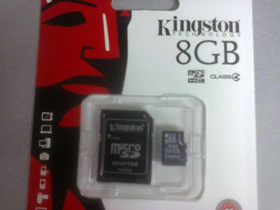 Memoria 8 GB Micro sd. Nueva