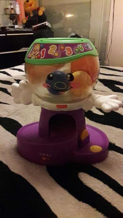 Maquina de Chicles Fisher Price
