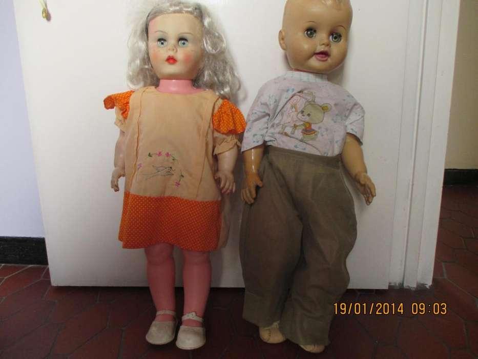 vendo muñecos antiguos