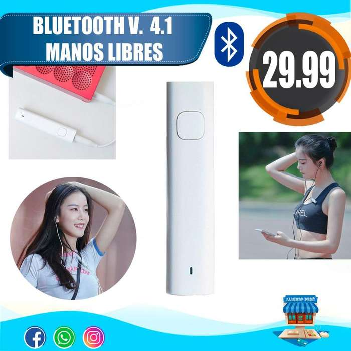 BLUETOOTH 4.1 MANOS LIBRES