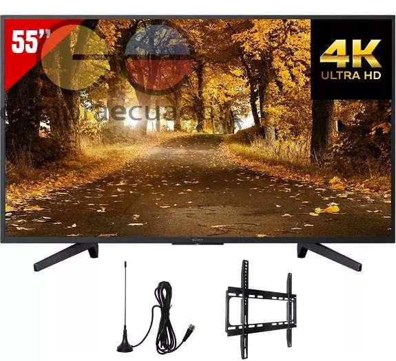 Sony Televisor Led 55 4k Uhd Hdr Smart Tv Antena Soporte