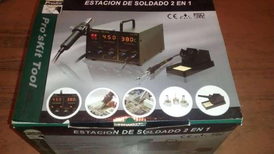 Estación de soldado 2 en 1 precio 5500