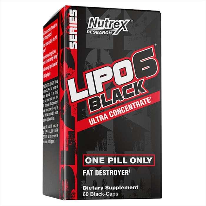 Lipo 6 Black Ultraconcentrado