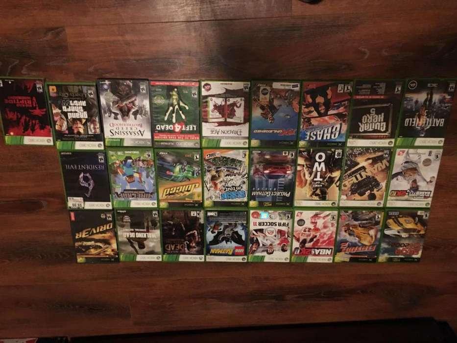 Vendo juegos XBOX