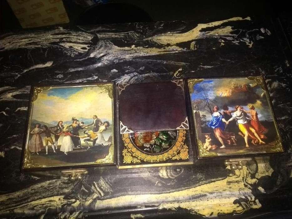 Antigua Caja Musical Años 50 Española