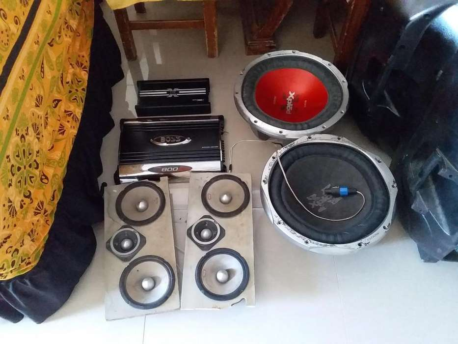 Kit de audio profesional precio negociable por inbox solo personas ser