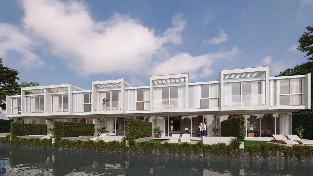 Isla Mocoli casas tipo Townhouses con vista al rio desde 375.000
