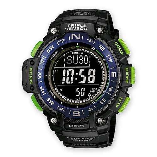Reloj <strong>casio</strong> SGW10002B triple sensor Camping