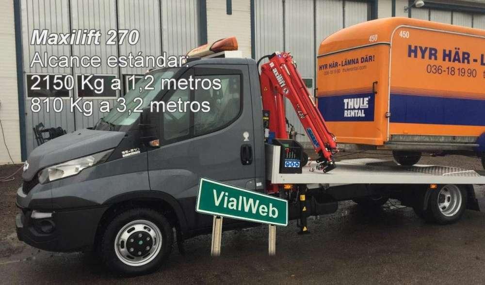 Hidrogrúa para camioneta o camión chico 2.150Kg