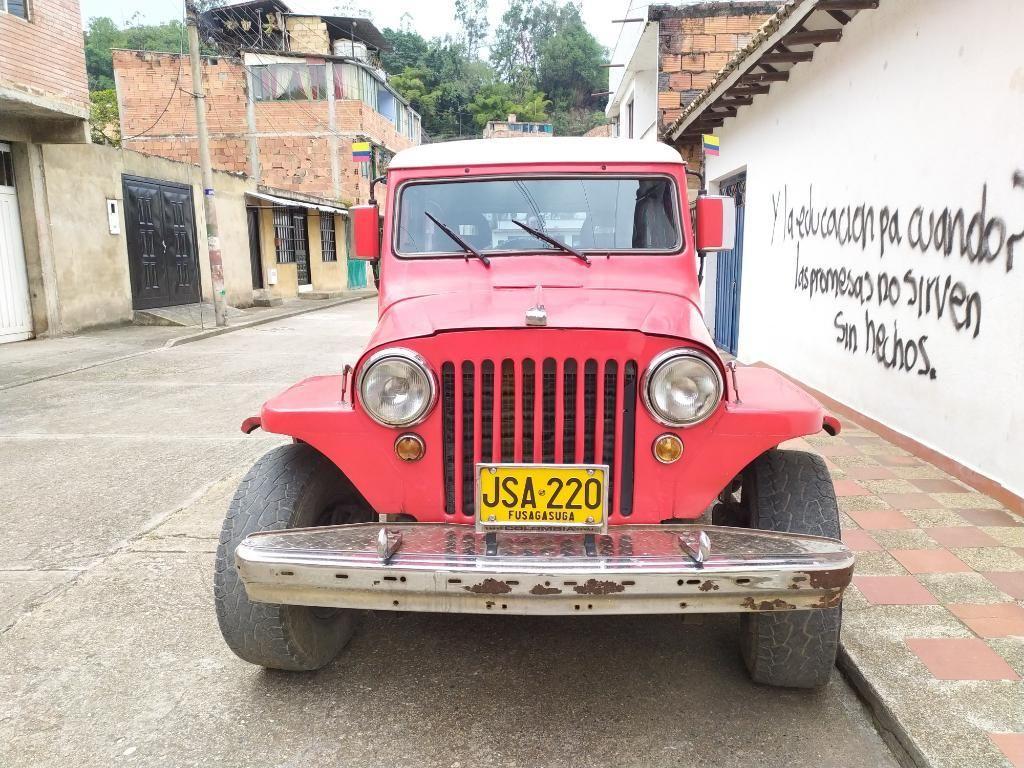 Camioneta Jeep Willys