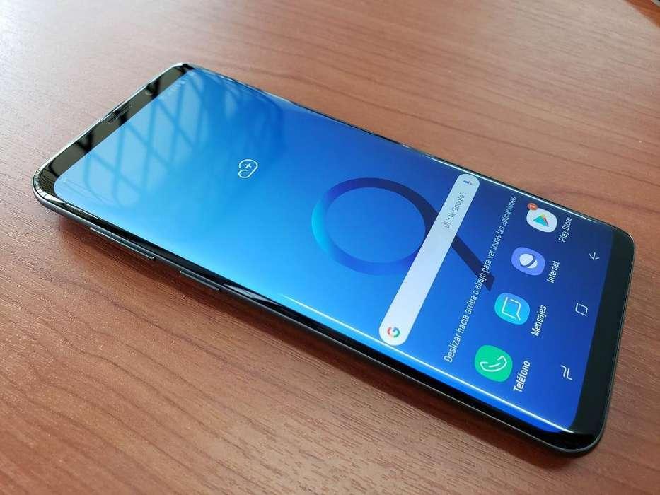 Samsung S9 Plus, Plata, Flamante en Caja