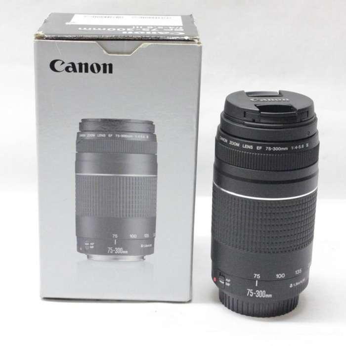 Lente Canon 75-300mm Nuevo