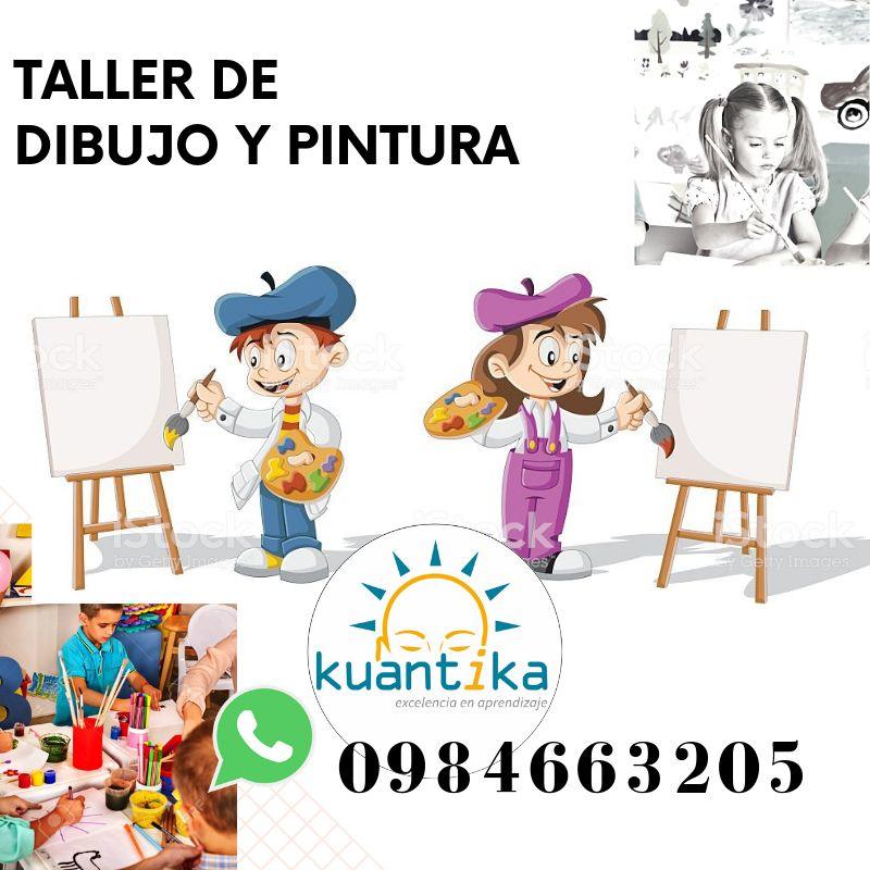 PINTURA TALLER VACACIONAL - DIBUJO